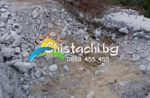 Извозване на строителни отпадъци в Столична Община