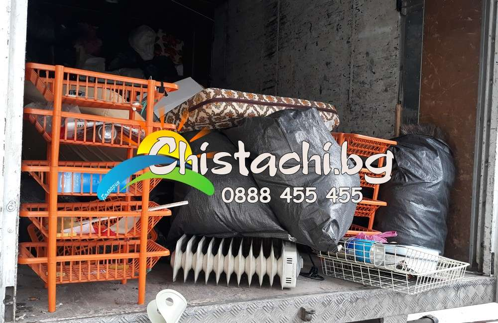 Извозване и изхвърляне на стари мебели и покъщнина в Разлог
