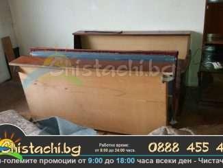Изнасяне на стара спалня и мебели столична